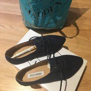 Blue suede shoes - Steve Madden